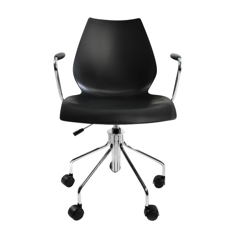MAUI swivel chair with arms