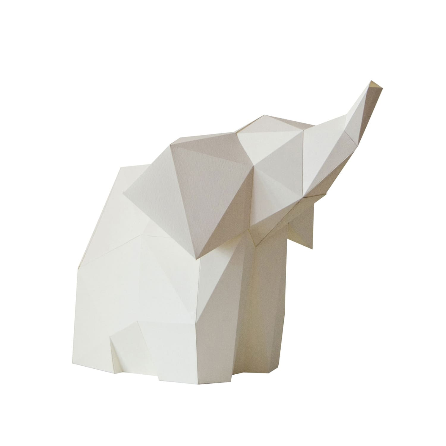 BABY ELEPHANT DIY paperlamp