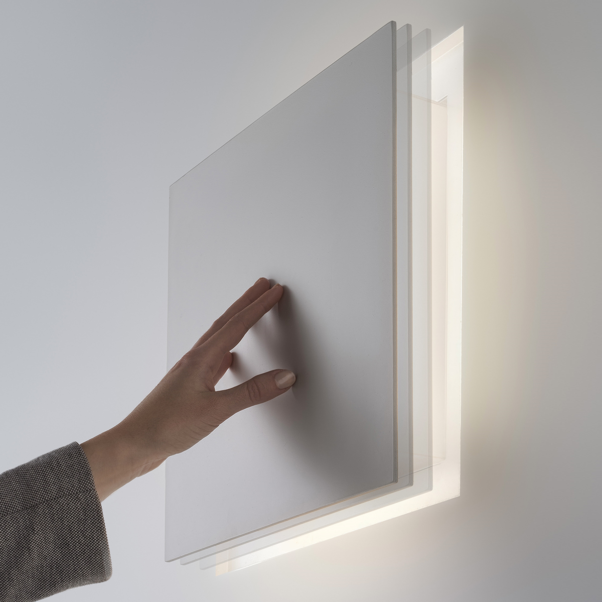 ALDECIMO wall recessed lamp