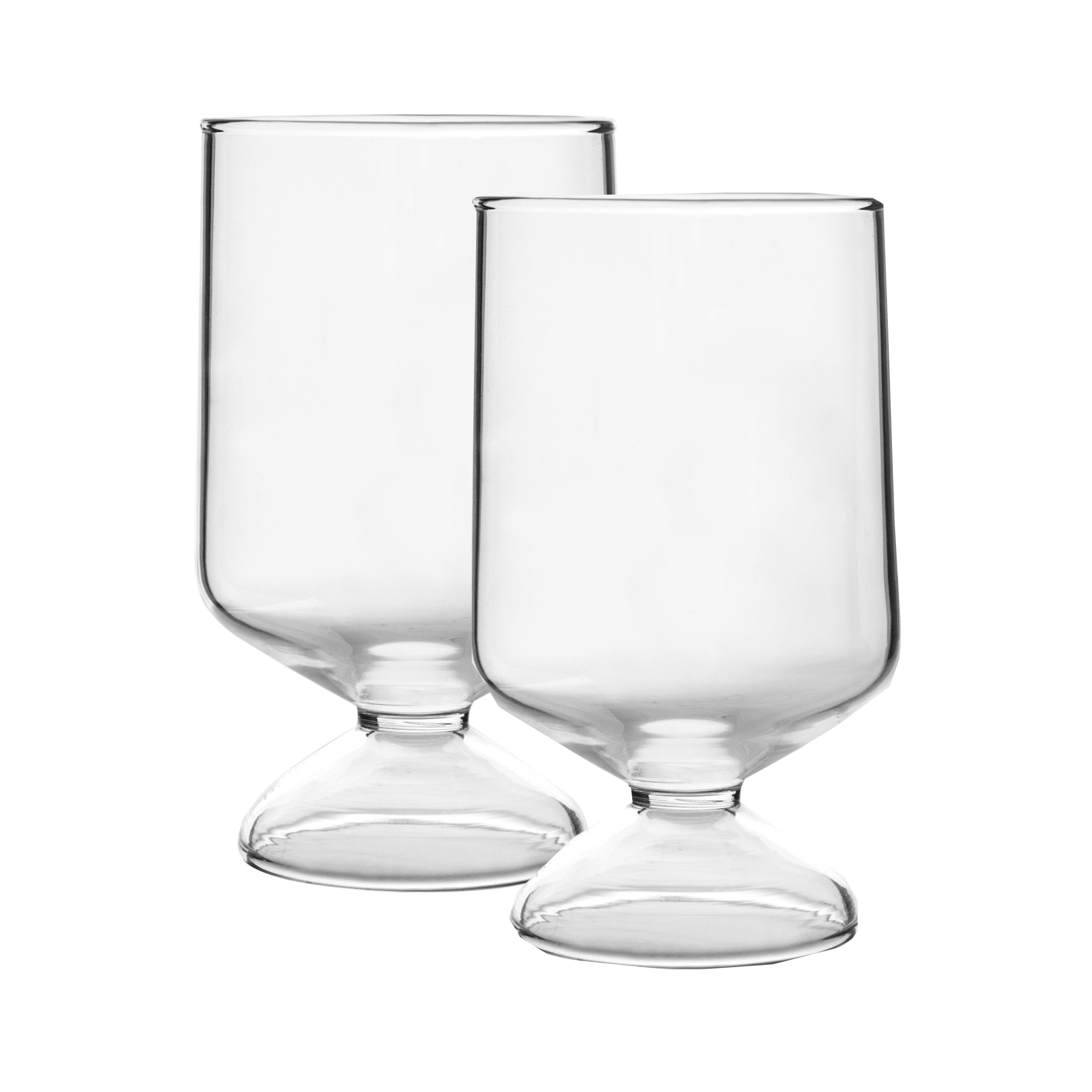 OLO glass - SET OF 2 PIECES