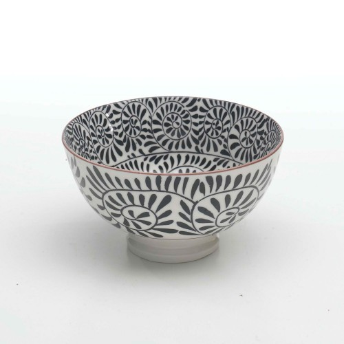 TUE porcelain bowl BLACK