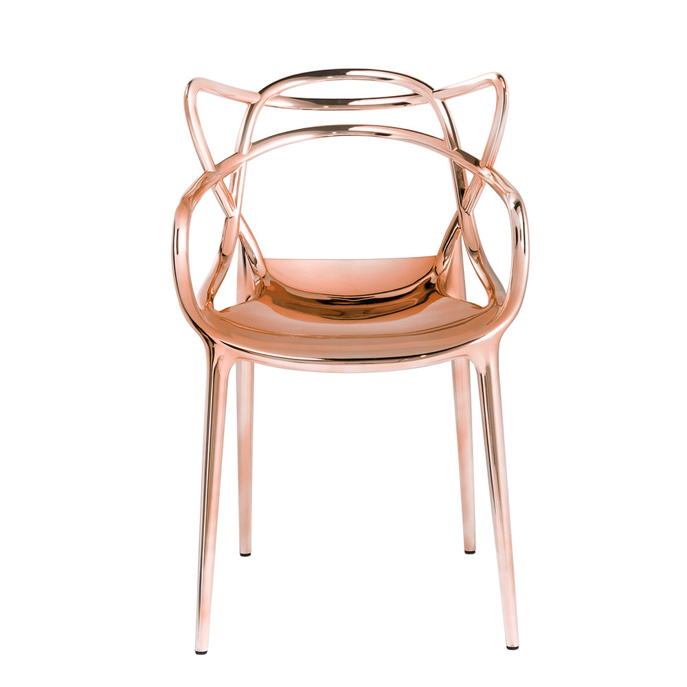 MASTERS chair METALLIC COPPER