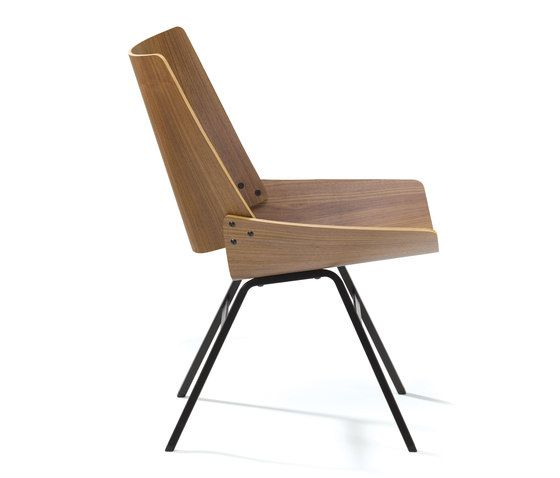 SHELL lounge chair OAK